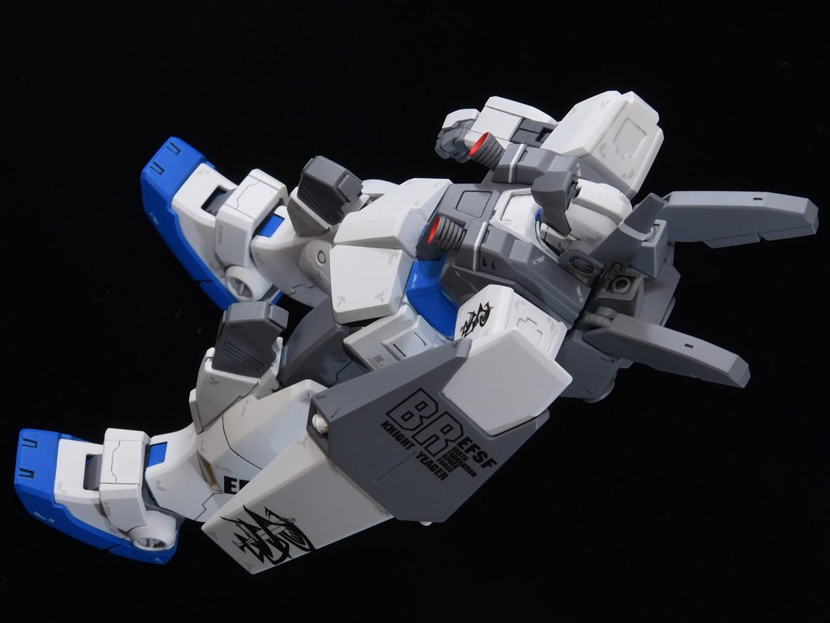 ヴァースキ専用ジムナイトシーカー宇宙仕様改造
