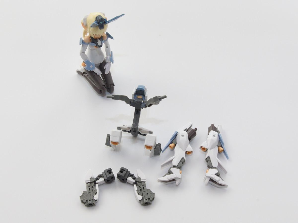 フレガ ゼルフィカール ST 武装モード仮組