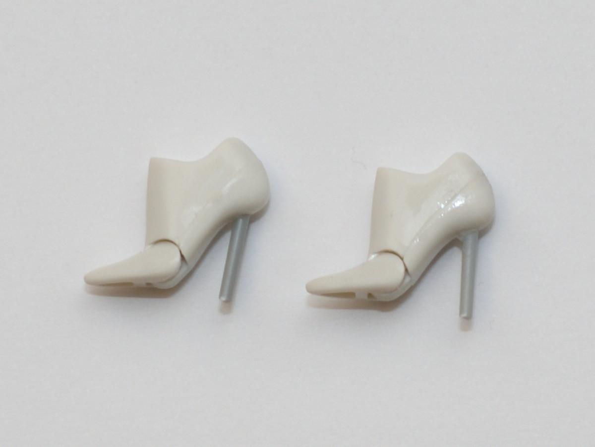 メガミデバイス 脚の改造 ハイヒール化