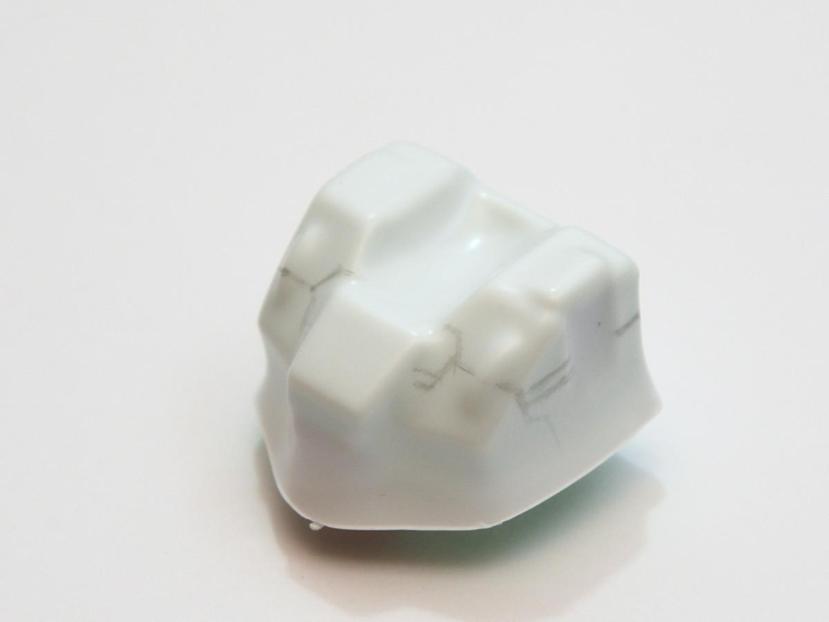 胸部装甲のバキュームフォーム