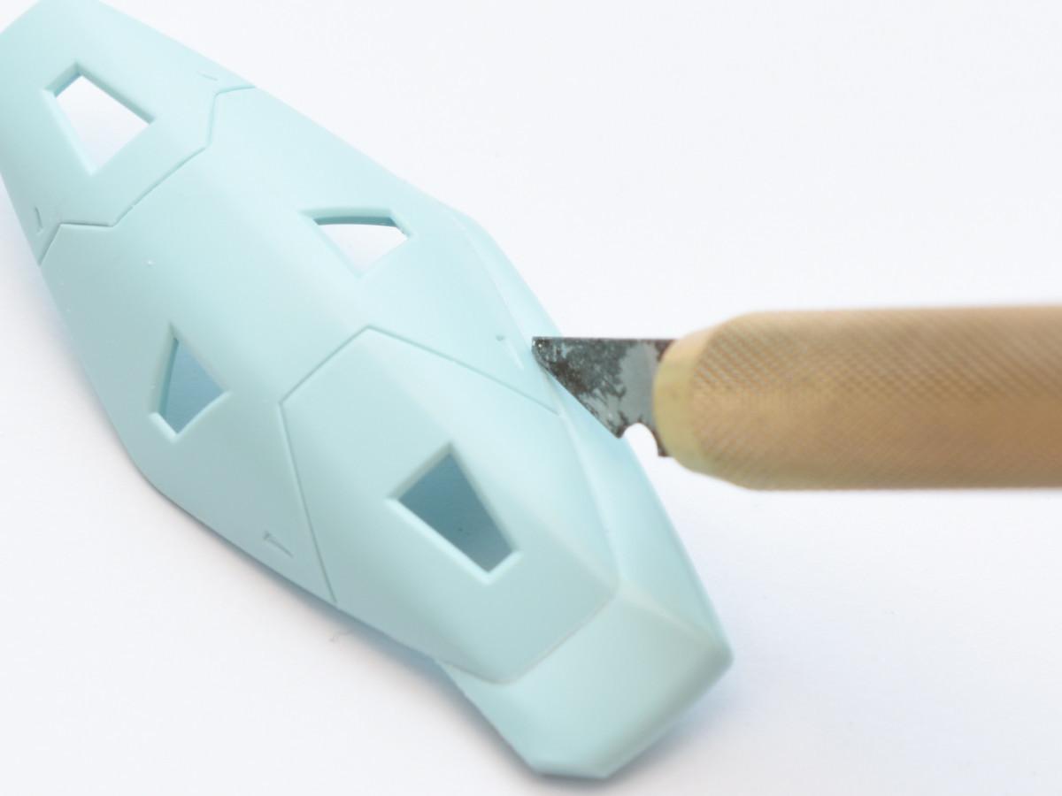 セイラマスオさんのスジボリ道具
