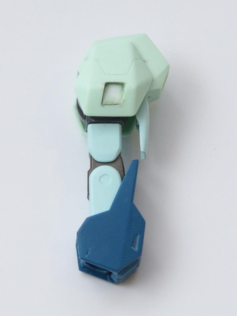 リガズィードの腕の制作