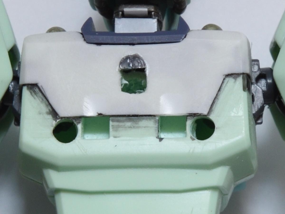 リガズィード バックパック接続孔