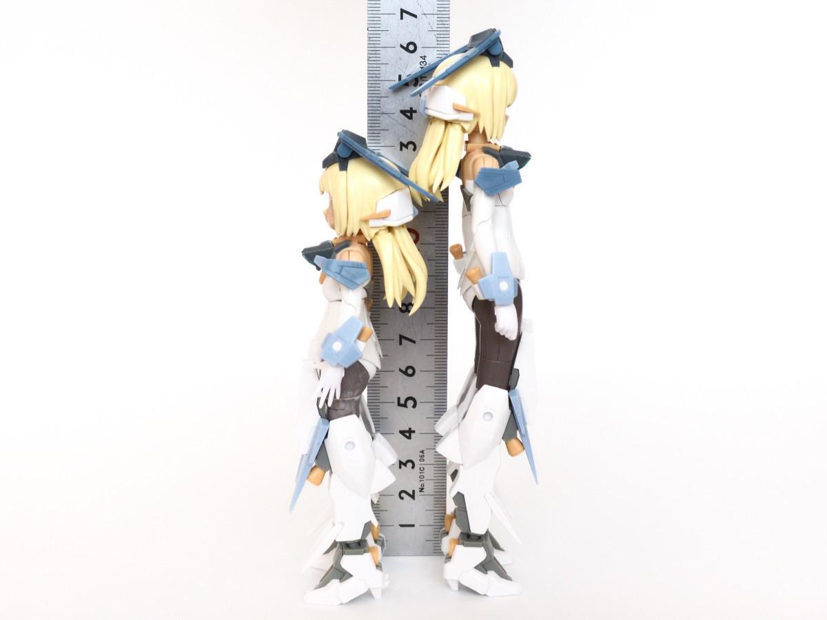 ゼルフィカール低身長化の背くらべ