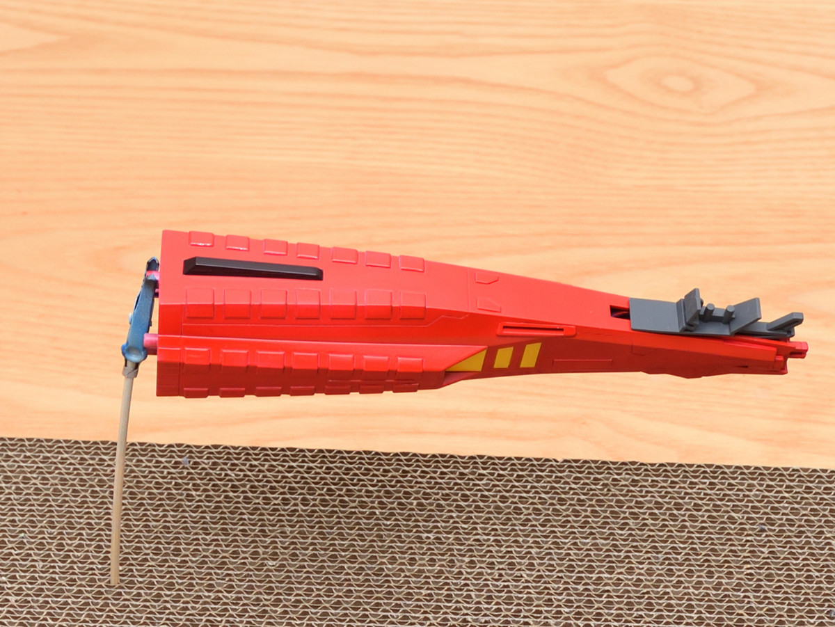 ギャプラン ミサイルコンテナの改造