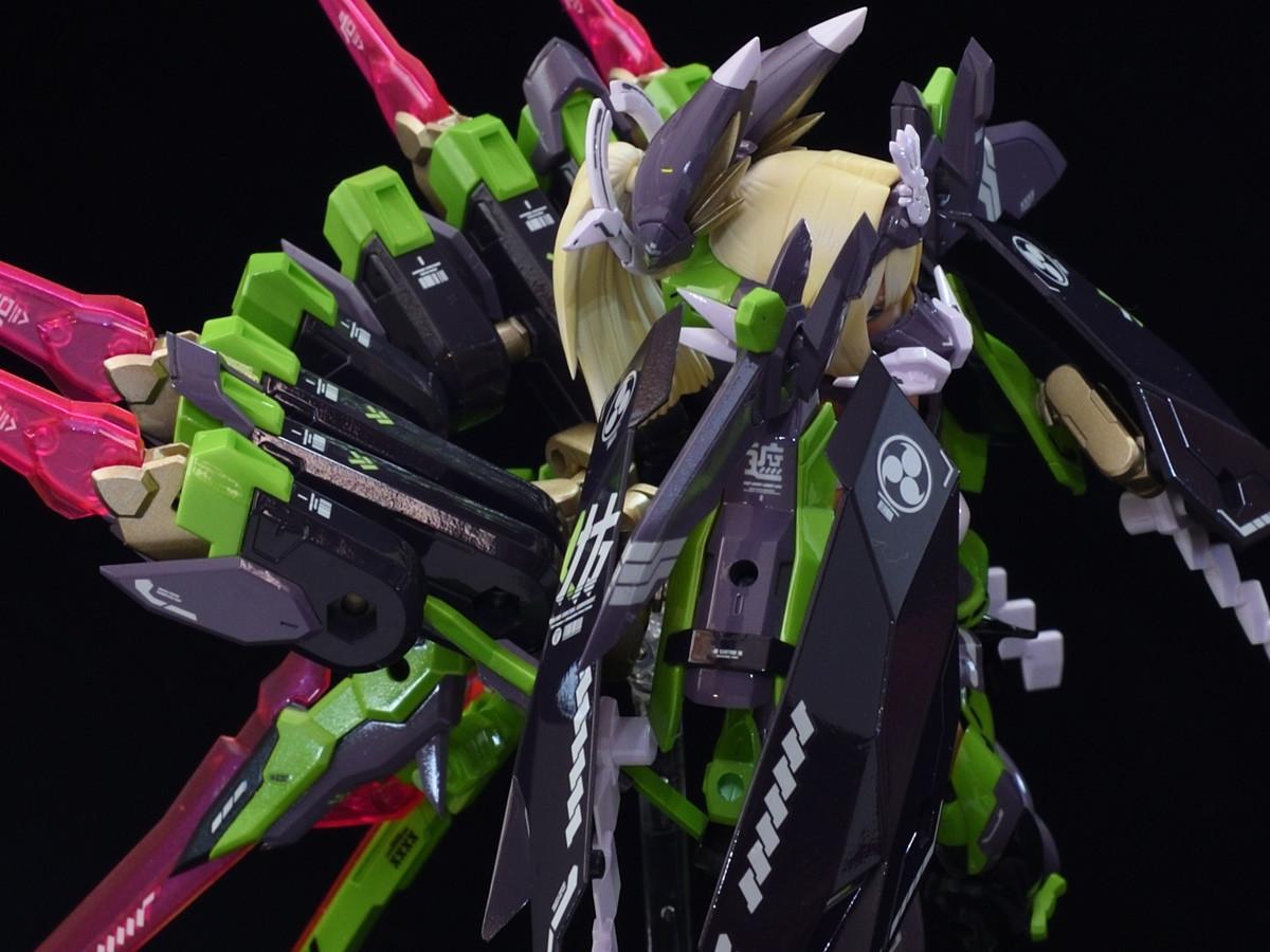 メガミデバイス 玉藻の前武装