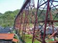 餘部鉄橋の美しい橋脚
