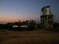 日没後の美星スペースガードセンター