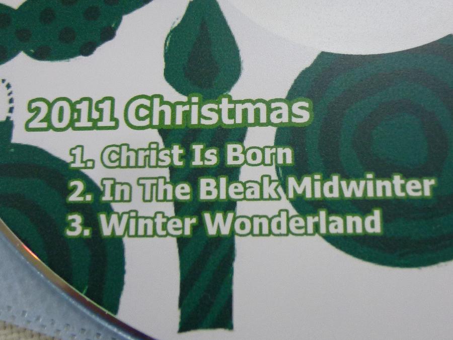 森川アキコさんのクリスマスCD 2011