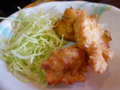 定食の唐揚げ 大衆中華料理 もりもり亭