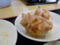 定食の小皿は唐揚げ 本格中華料理 福来