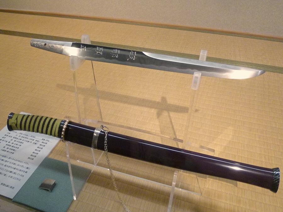 初号機仕様 脇差 − 序・破・急 ヱヴァンゲリヲンと日本刀展