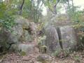 ドルメン−供物台 日本ピラミッド葦嶽山