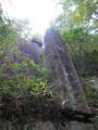 神武岩(屏風岩) 日本ピラミッド葦嶽山
