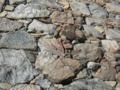 大戦の傷跡 名古屋城の石垣
