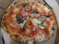ベーコンとナスとパプリカのトマトソース Pizza CHERCH
