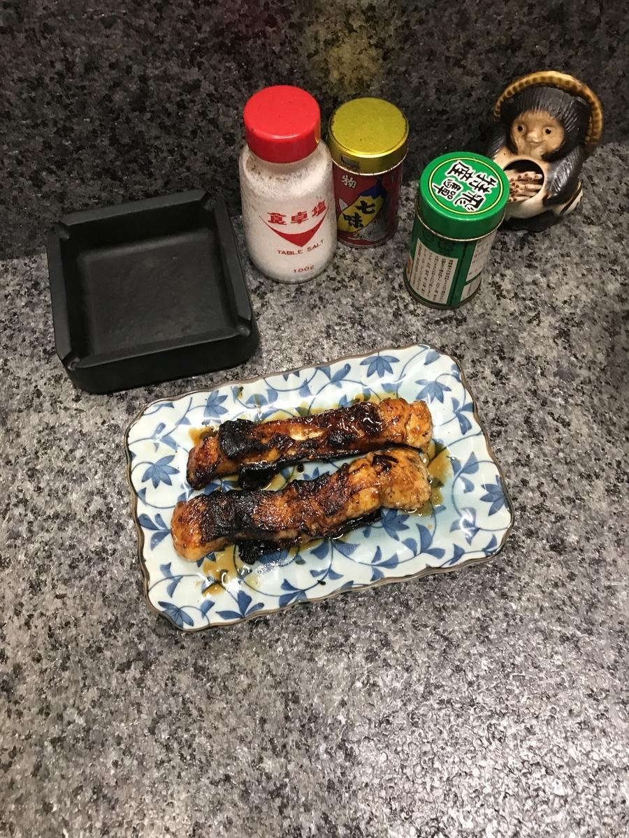 うなぎ串焼(300円/1本)