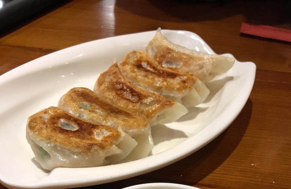 情熱肉汁餃子(300円)