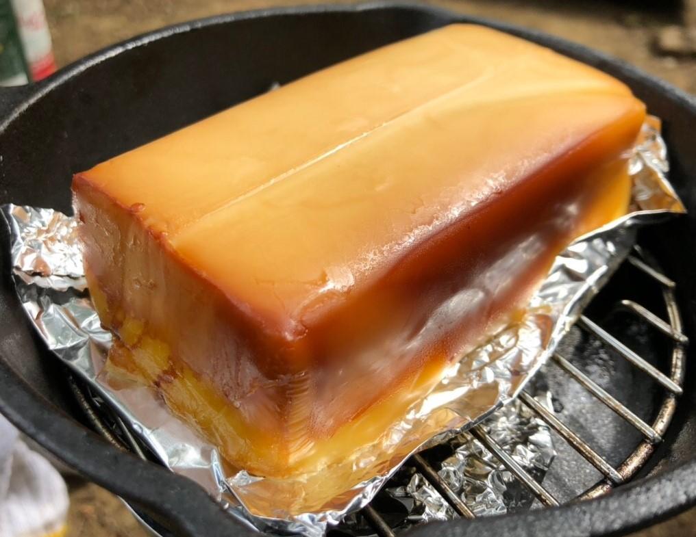 水太の作ったチーズ燻製