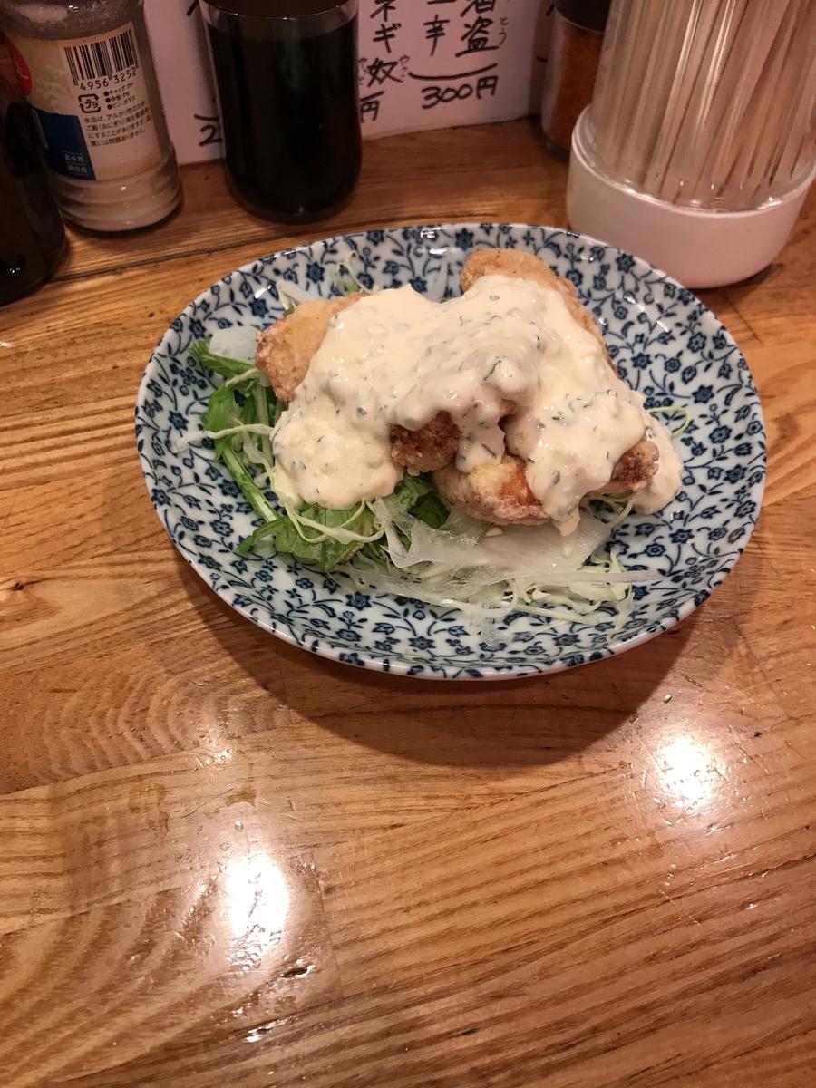 チキン南蛮(450円)