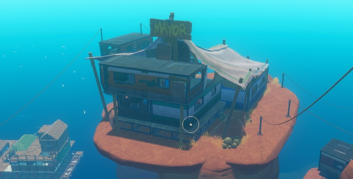 【Raft】CaravanaTown-市長の家