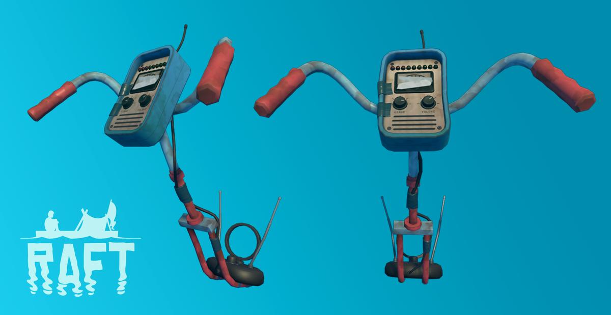 【Raft】金属探知機