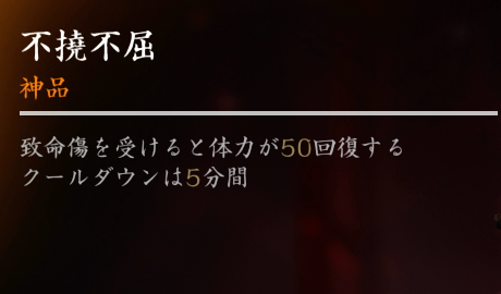 【Ghost of Tsushima】護符《不撓不屈》