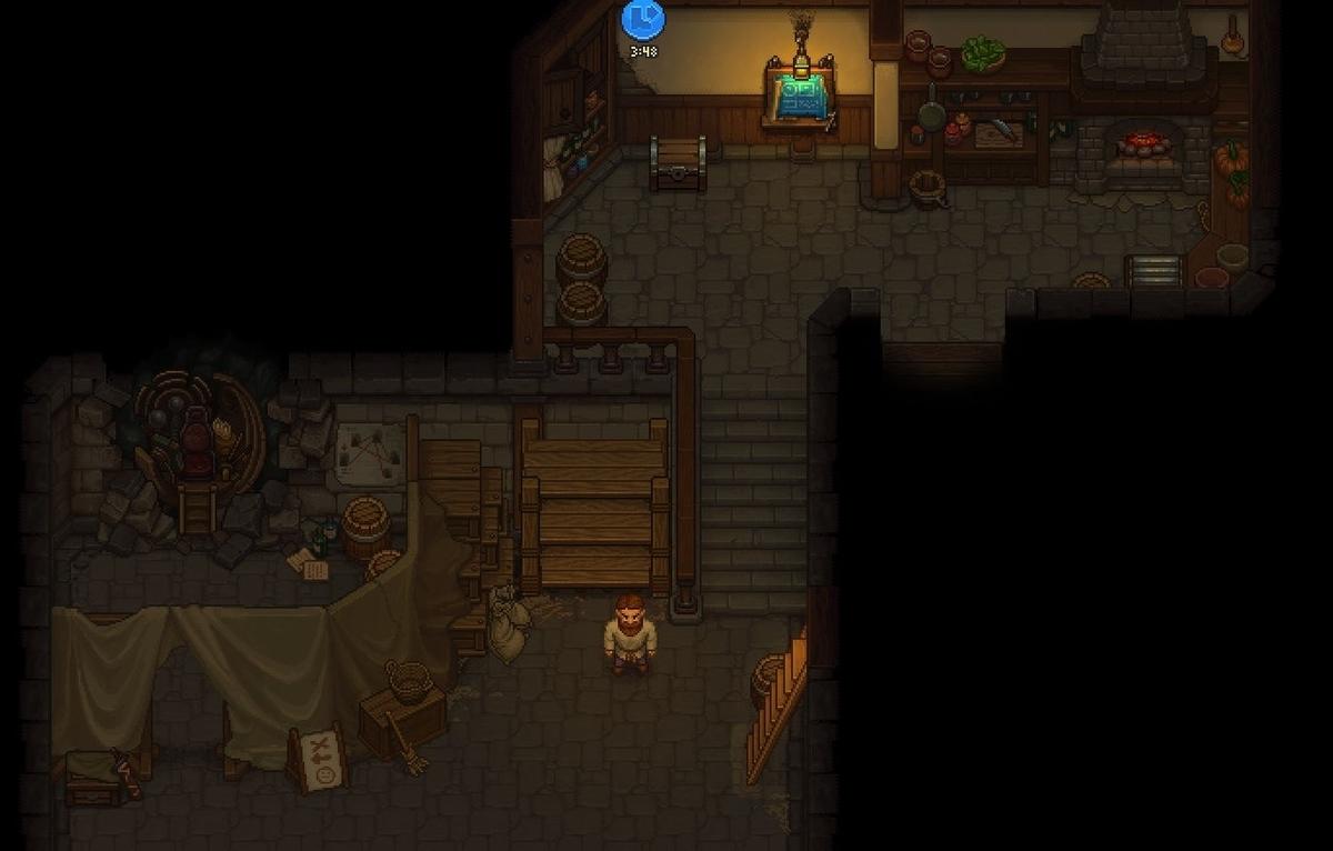 【Graveyard Keeper】DLC《酒場ストーリー》