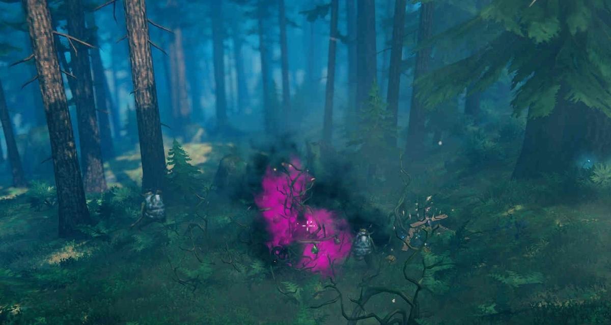 【Valheim】黒い森《ネスト》