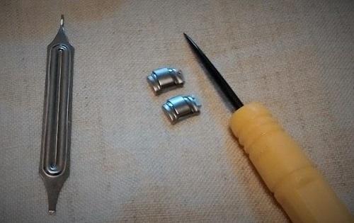 腕時計のベルト交換で使った工具