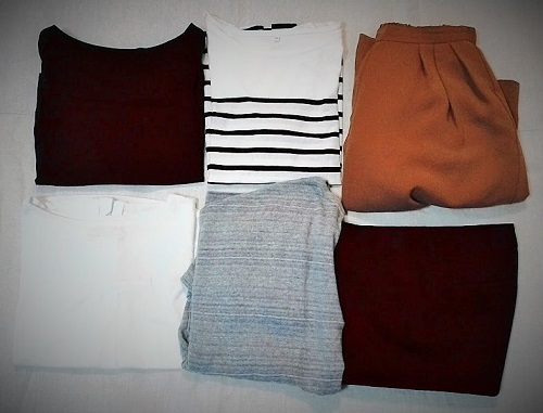 三泊四日、旅行の服装