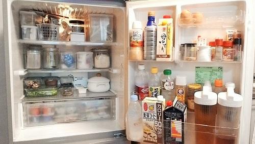 整理後の冷蔵庫内はこちら