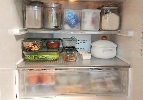 冷蔵庫の整理!作り置きにイワキ パック&レンジ
