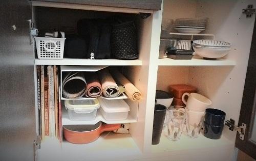 キッチン雑貨の収納場所