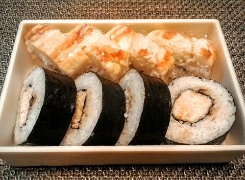 札幌蟹飯「かに寿司の盛り合わせ」