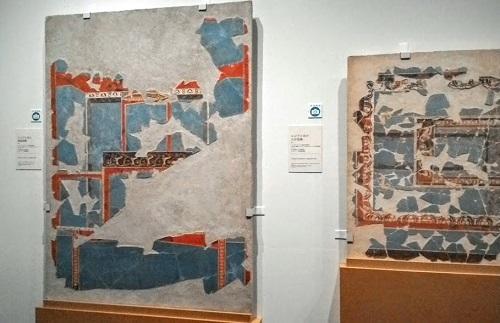 エジプト青の壁画装飾