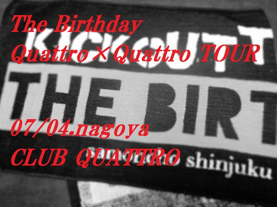 The Birthday Quattro×Quattro TOUR16