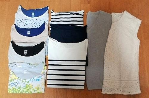 【夏の洋服】30代主婦が着まわす16着の洋服