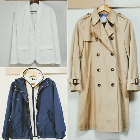 コートとジャケット
