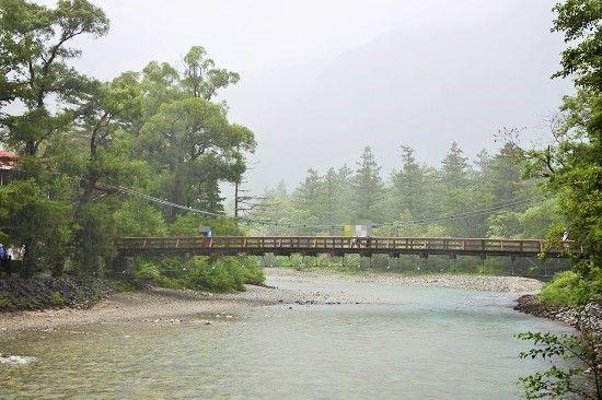 雨の河童橋