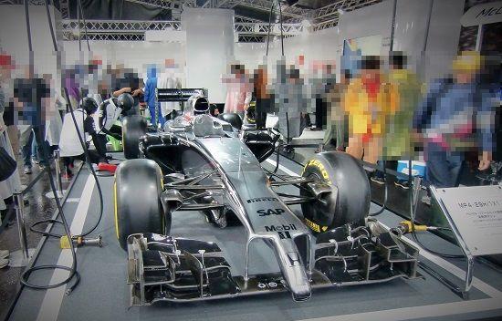 2015年のマシン展示