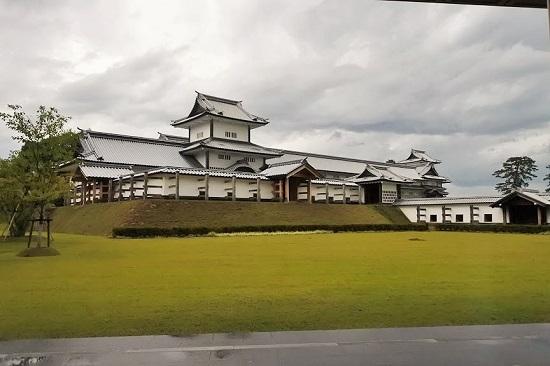 金沢城公園の豆皿茶屋