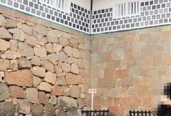 石川門の石垣