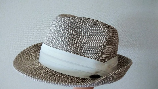 夏の外出用に便利な帽子/折りたたみストローハットとお買物マラソン