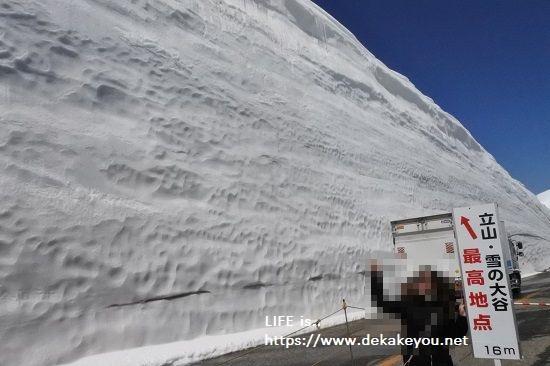 雪の大谷で人気の撮影スポット