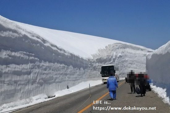 雪の大谷ウォーク