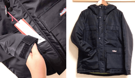 KRIFF MAYER(クリフメイヤー)中綿フィールドジャケット