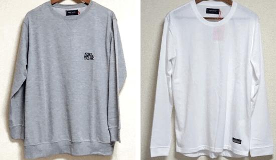 KRIFF MAYER(クリフメイヤー)薄手のスウェットと長袖Tシャツ