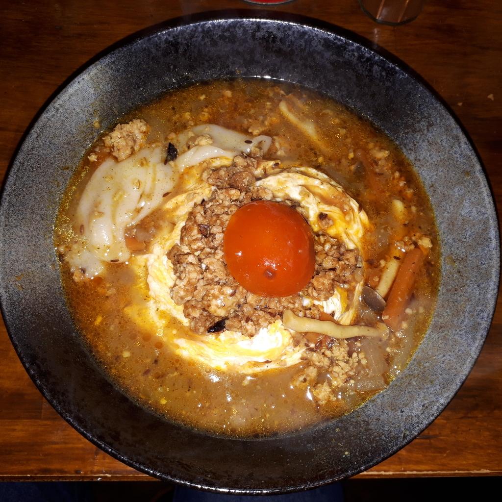waccaの鶏親子スープカレー正月バージョン
