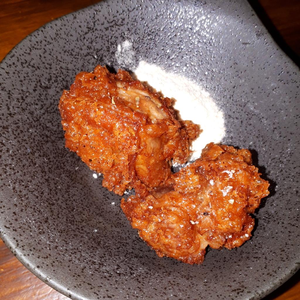 天草大王の鶏もも唐揚げと旨味のある塩